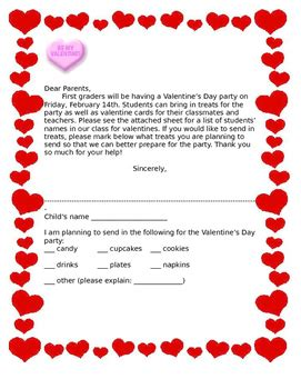 s day letter template day letter to parents template