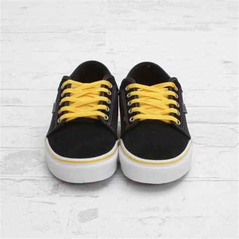 Vans Chuka Low Stripes vans chukka low black yellow sneakerfiles