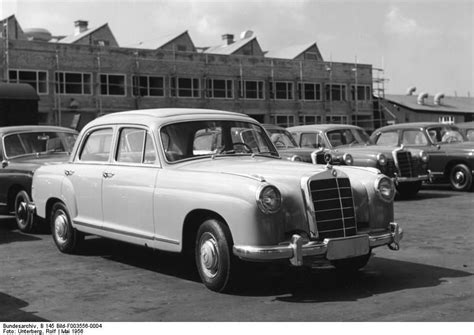 Mercedes Factory Parts mercedes factory in 1956 part 1956 vehicles