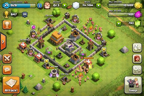 layout for th4 coc th4 farming base layout