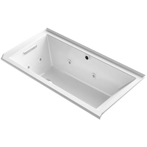 Bathtubs 60 X 30 by Underscore 60 Quot X 30 Quot Air Whirlpool Bathtub Wayfair