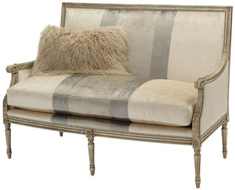 upholstered settees upholstered settee sofa