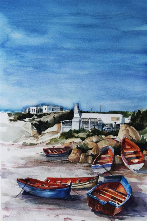 fishing boat for sale langebaan paternoster boats south african art pinterest boats
