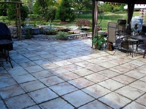 Make Your Own Patio Pavers Make 9x9 Pavers Diy Patio Kit W All Supplies 12 Cement Molds Diy Patio The O Jays