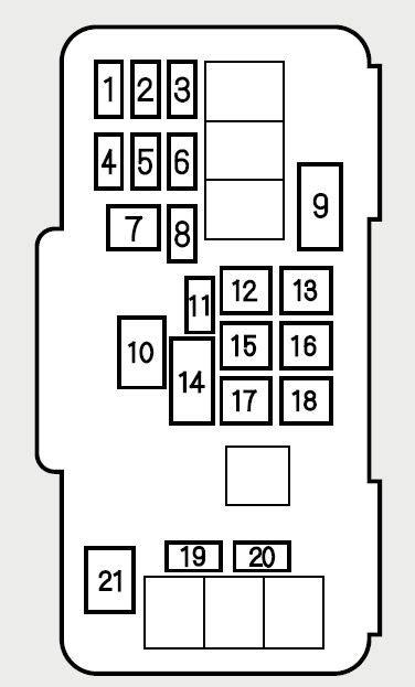 honda accord fuse box honda accord 2001 fuse box diagram auto genius