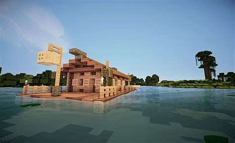 minecraft house boat image gallery minecraft houseboat