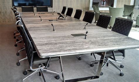 Marble Boardroom Table Contract