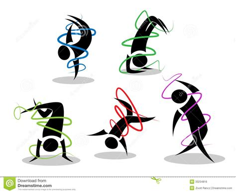 Imagenes Figuras Minimalistas   figuras minimalistas de la danza de rotura imagen de