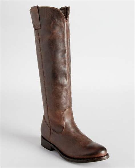 dolce vita flat boots lujan in brown lyst
