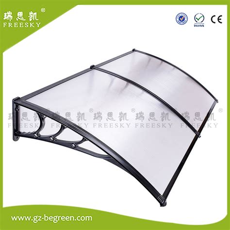 polycarbonate awning brackets aliexpress com buy yp150240 150x240cm freesky diy door