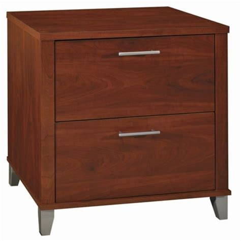 Sauder Heritage Hill 2 Drawer Lateral Wood File Cabinet In Cherry Wood File Cabinet