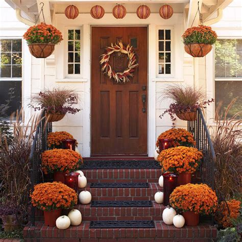 fall entrance decorating ideas ideas and inspiration for creative living outdoor fall decor