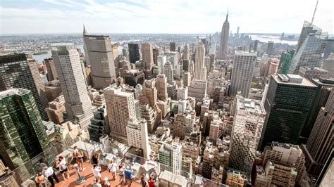 New City Top top of the rock observation deck new york book tickets