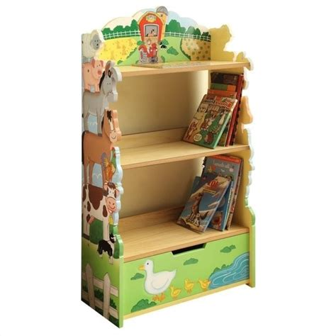 fields happy farm animals bookshelf td 11329a