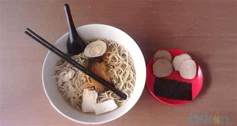 Nikkou Ramen Yogyakarta nikkou ramen semangkuk ramen bening nan pedas yang