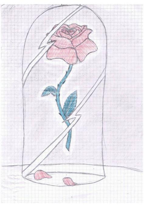 rose de la belle et la b te dessin de itsumaru post 233 sur