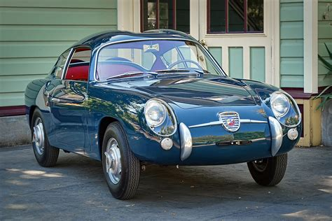 zagato cars restored 1958 fiat abarth 750 zagato sports car shop