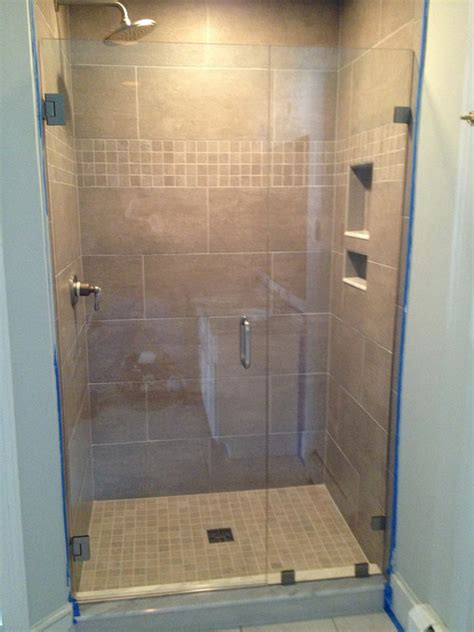 Shower For One by Glass Shower Doors Bryn Mawr Glass