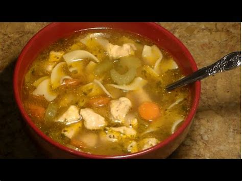 chicken noodle soup recipe homemade chicken noodle soup
