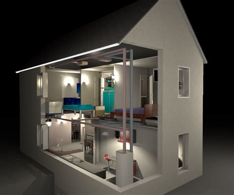 Home Design 3d Change Wall Height by How To Show Interior Parts By Walls Sweet Home 3d