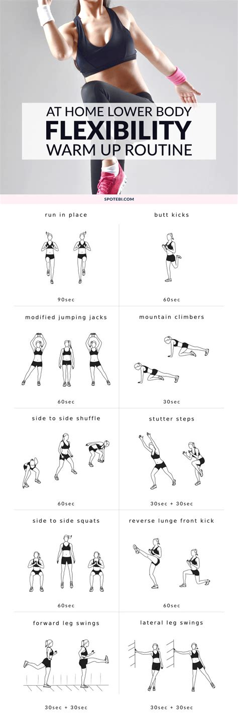 lower dynamic warm up exercises