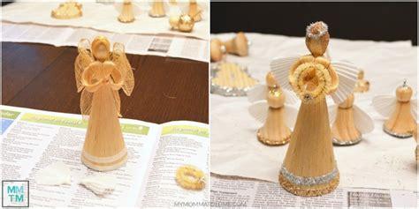 corn husk doll ornaments diy wooden ornaments hello nutritarian