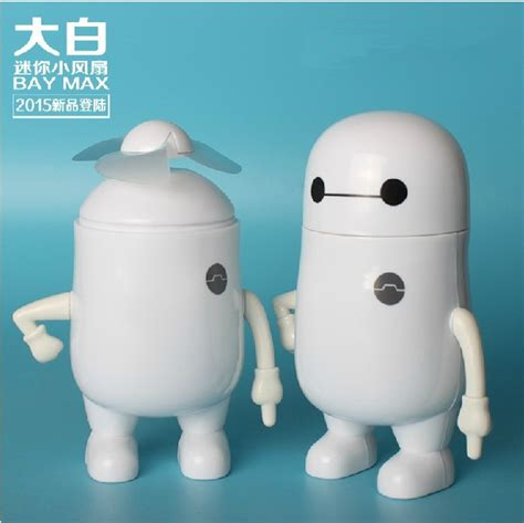 jual kipas angin mini fan karakter big 6 baymax bay