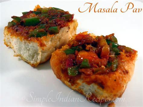 masala pav recipe masala pav simple indian recipes