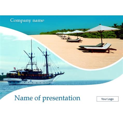 travel powerpoint template background for presentation