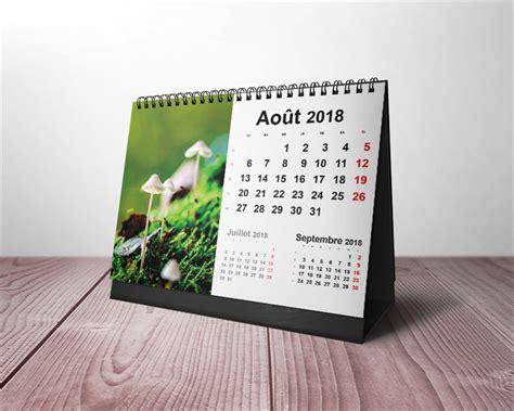 calendario de pared calendario de sobremesa calendrier table 2018