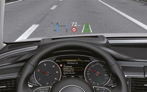 Audi Head Up by Technika W Nowym Audi A6 Head Up Display