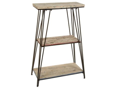 estanteria de hierro estantera en metal y madera farrow