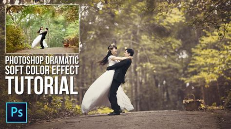 Wedding Banner Editor by Dramatic Soft Color Effect Prewedding Photoshop Tutorial