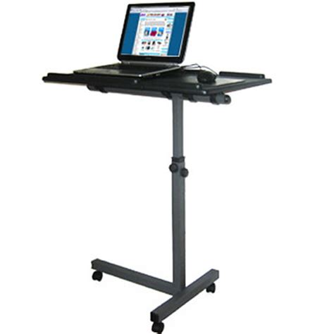 Mobile Laptop Desk Stand Laptop Stand Notebook Table Office Furniture Mobile Desk Computer Towers
