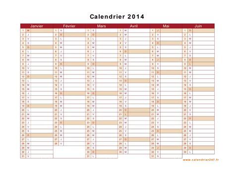 Calendrier 2014 Pdf Calendrier 2014 224 Imprimer Gratuit En Pdf Et Excel