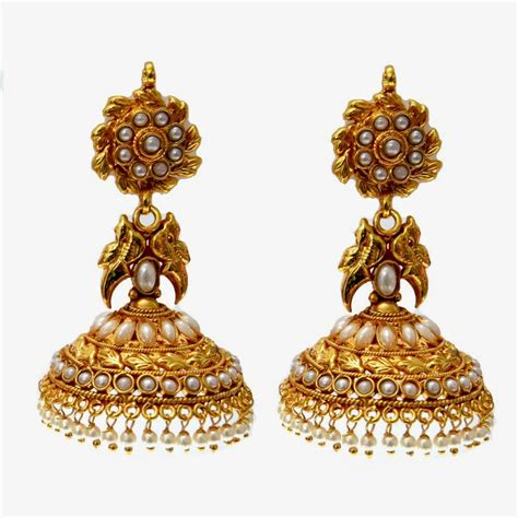 wallpaper of gold earring free download hd wallpapers latest gold jhumka earring
