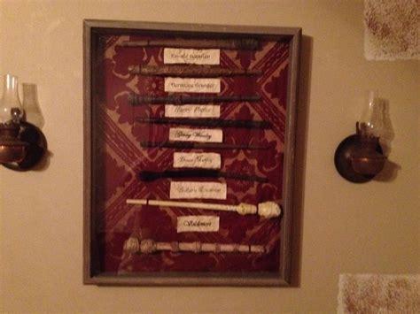 harry potter wand display diy