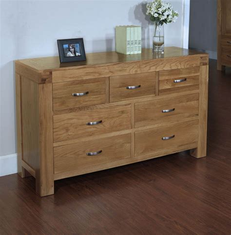 7 Chest Of Drawers by Santana Oak 7 Drawer Chest Of Drawers
