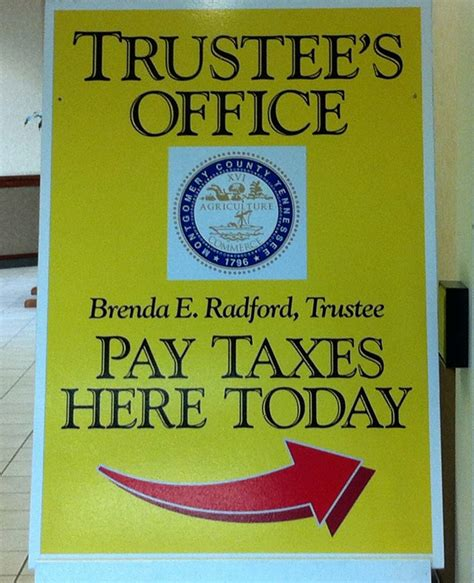 Montgomery County Tax Office by Property Taxes Are Due Today In Clarksville