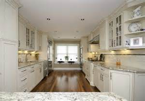 galley kitchens with islands galley kitchen with peninsula neptune nj by design line