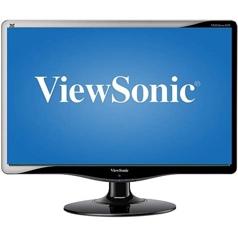 viewsonic 22 led lcd monitor va2232wm led black by viewsonic