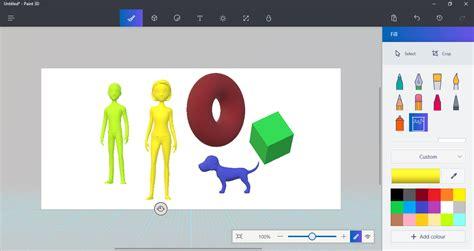 paint 3d windows 10 creators update the biggest changes heading