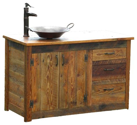Vanities Rustic Bathroom Vanity Right Sided Traditional Bathroom