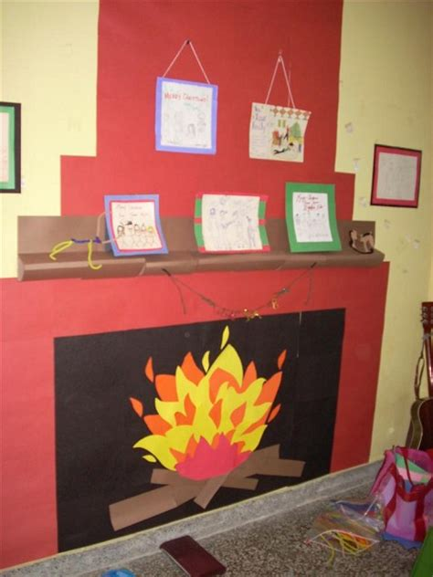 Fireplace Door Decorations by Door Decorating Contest Pictures