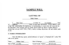 Last Will And Testament Template Form Massachusetts Last Will And Testament Template Form Make Your Own Will Free Template