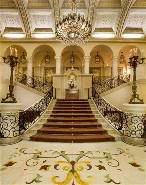 Mansion Foyer by Residences Luxury Homes Mega Mansions Luxury
