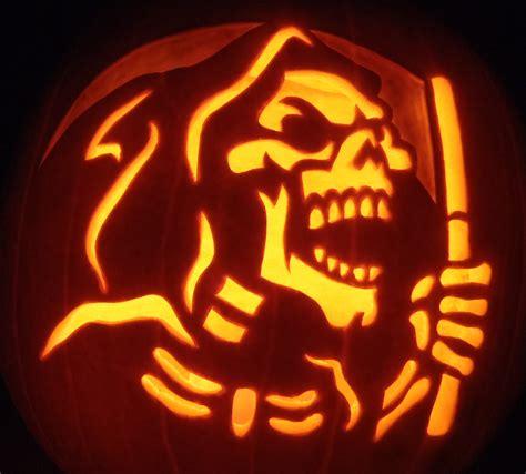 printable grim reaper pumpkin stencils grim reaper pumpkin by johwee on deviantart