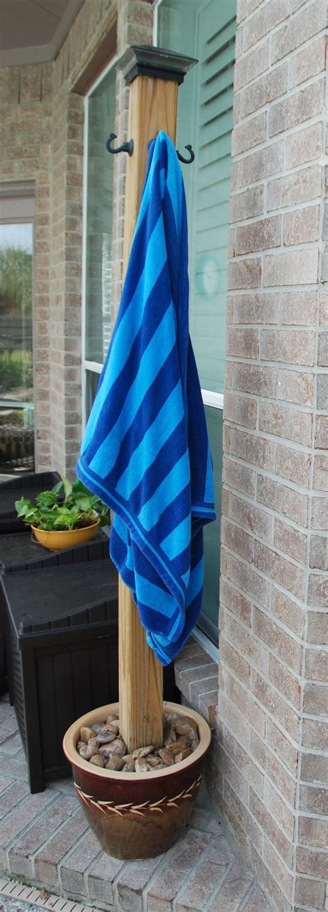 outdoor pool towel storage 66 best backyard clothesline images on pinterest laundry