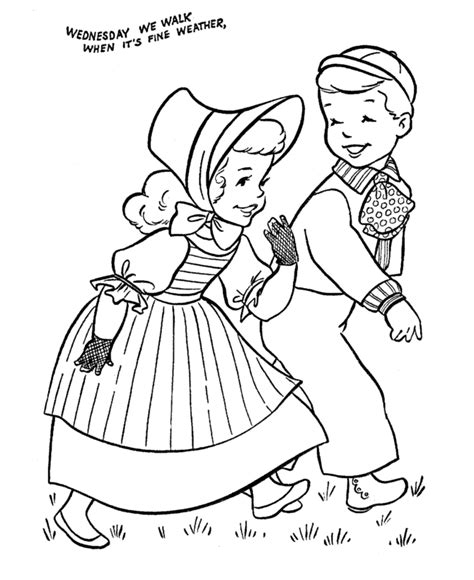 free coloring pages of jack y jill