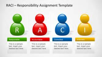 raci template raci powerpoint template slidemodel